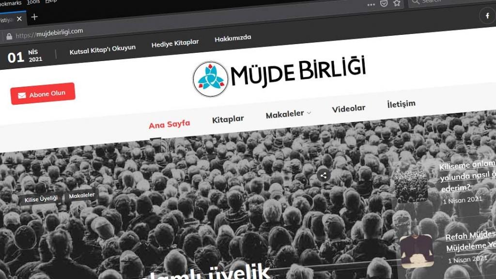 MüjdeBirliği.com Web Site Screenshot